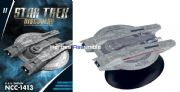 Star Trek Discovery Starships Collection #11 USS Shran NCC-1413 Starship Eaglemoss